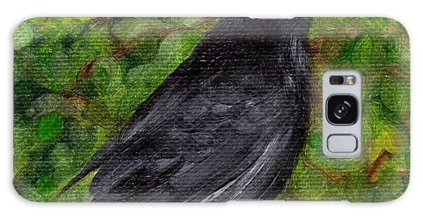 Raven In Wirevine Galaxy Case