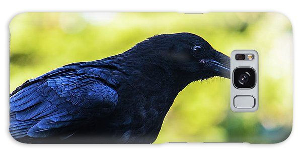 Galaxy Case featuring the photograph Raven by Jonny D