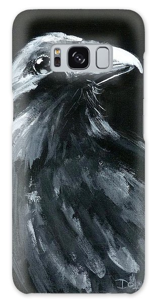 Raven Looking Right Galaxy Case
