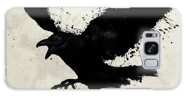Bird Galaxy Case - Raven by Nicklas Gustafsson