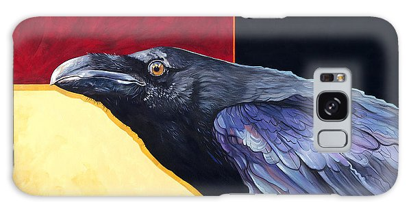 Raven Of The Tomorrow Wings Galaxy Case