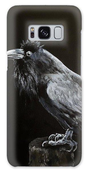 Raven On Post Galaxy Case
