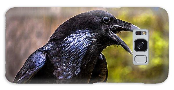 Raven Profile Galaxy Case