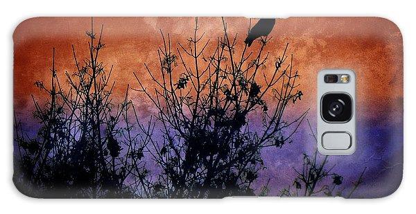 Raven Sentinel Galaxy Case by Dee Flouton