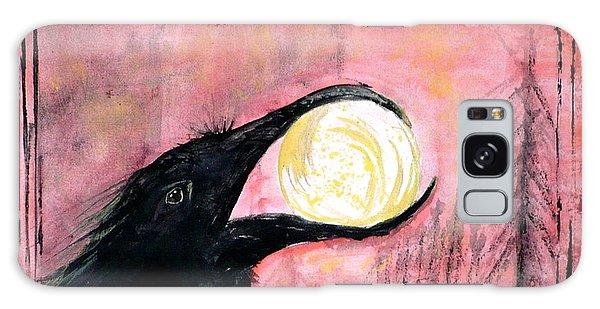 Raven Steals The Sun Galaxy Case