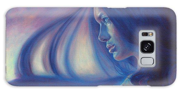 Raven Sunrise Galaxy Case by Ragen Mendenhall