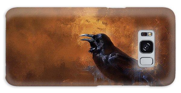 Raven Galaxy Case by Theresa Tahara