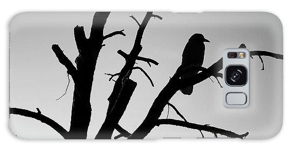 Raven Tree II Bw Galaxy Case