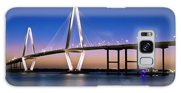 Galaxy Case featuring the photograph Ravenel Bridge 2 by Bill Barber