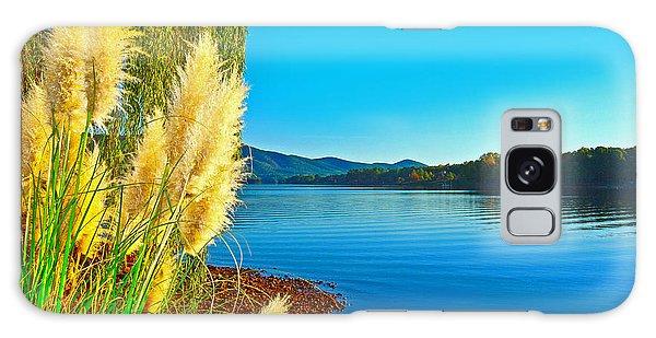 Ravenna Grass Smith Mountain Lake Galaxy Case