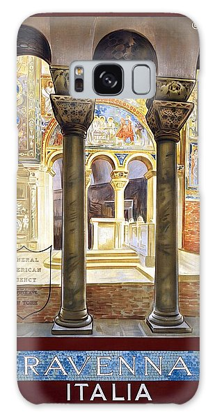 Ravenna, Travel Poster 1925 Galaxy Case