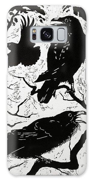 Ravens Galaxy Case