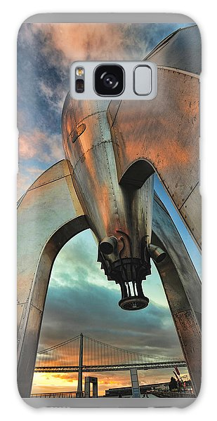 Raygun Gothic Rocketship Blast-off Galaxy Case