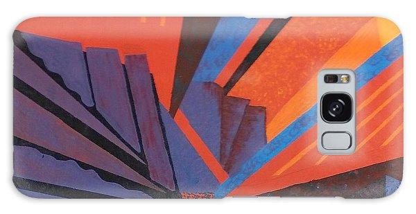 Rays Floor Cloth Galaxy Case by Judith Espinoza