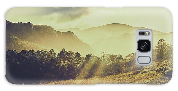 Bright Sun Galaxy Case - Rays Of Dusk by Jorgo Photography - Wall Art Gallery
