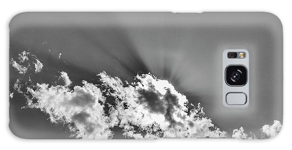 Galaxy Case featuring the photograph Rays Through Clouds, Keylong, 2005 by Hitendra SINKAR