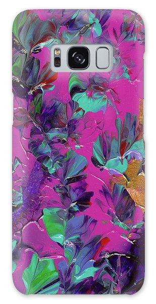 Razberry Ocean Of Butterflies Galaxy Case