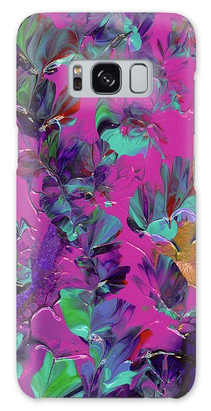 Razberry Ocean Of Butterflies Galaxy Case