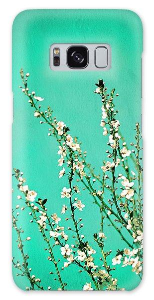 Reach - Botanical Wall Art Galaxy Case
