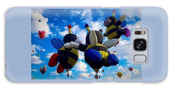 Hot Air Balloon Cheerleaders Galaxy Case
