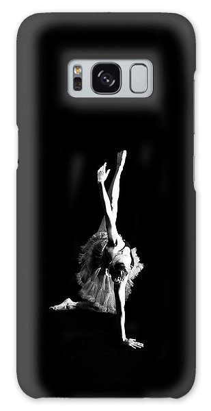 Reaching Ballerina Galaxy Case