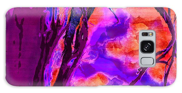 Reaching To Purple Clouds Galaxy Case