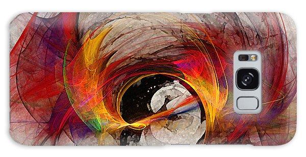 Reaction Abstract Art Galaxy Case