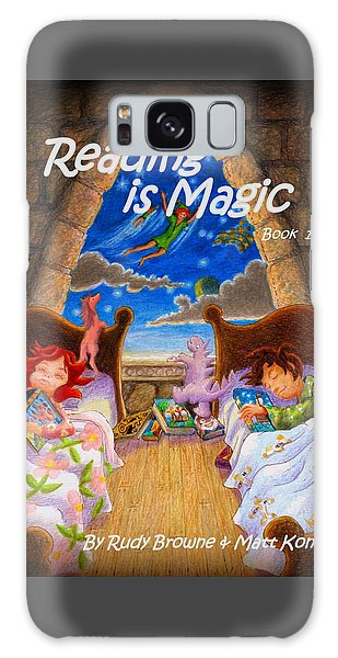 Reading Is Magic Galaxy Case by Matt Konar