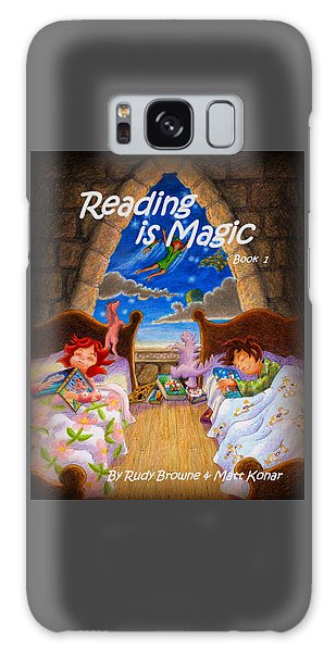 Reading Is Magic Galaxy Case