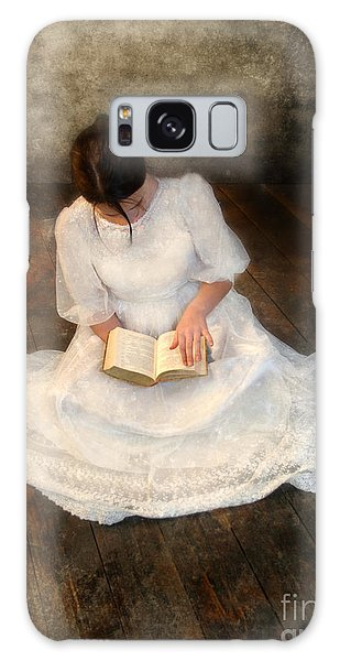 Reading  Galaxy Case by Jill Battaglia