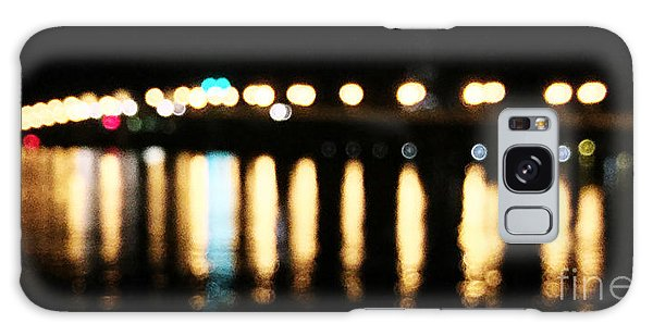Bridge Of Lions -  Old City Lights Galaxy Case by LeeAnn Kendall