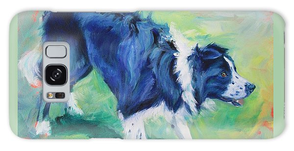 Ready To Fly - Border Collie Galaxy Case