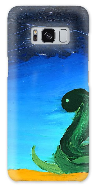 Ready To Strike Galaxy Case by Lola Connelly