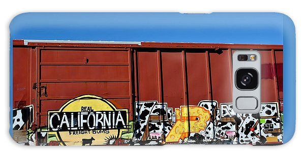 Real California Freight Bums  Galaxy Case