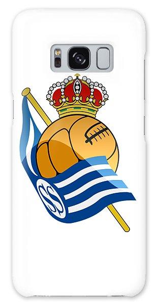 Real Sociedad De Futbol Sad Galaxy Case by David Linhart