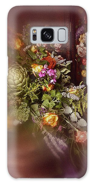 Floral Arrangement No. 1 Galaxy Case by Richard Cummings