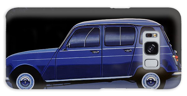 Automobile Galaxy Case - Renault 4 1961 Painting by Paul Meijering