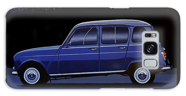 Truck Galaxy S8 Case - Renault 4 1961 Painting by Paul Meijering
