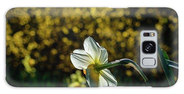 Rear View Daffodil Galaxy Case