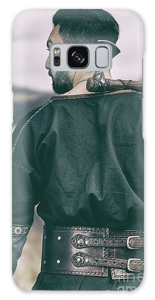 Cosplay Galaxy Case - Rear View Of Warrior by Amanda Elwell