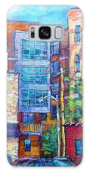 Rear Windows Galaxy Case by Les Leffingwell