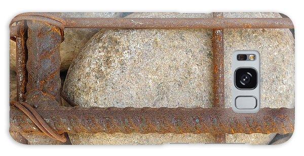 Rebar And Rocks Galaxy Case