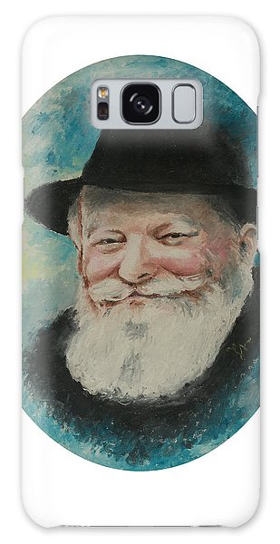 Rebbe Smiling Galaxy Case by Miriam Leah