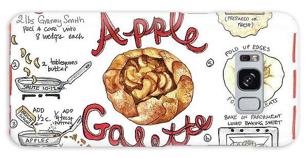 Recipe- Apple Galette Galaxy Case