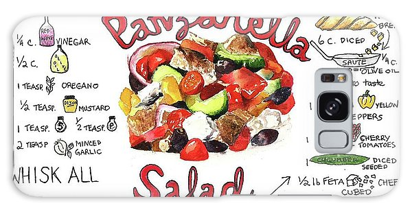 Recipe- Panzanella Salad Galaxy Case