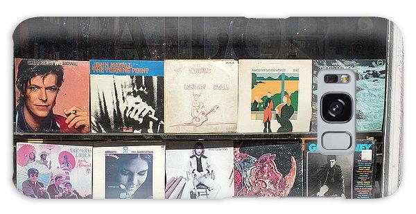 Eric Clapton Galaxy Case - Record Store Burlington Vermont by Edward Fielding