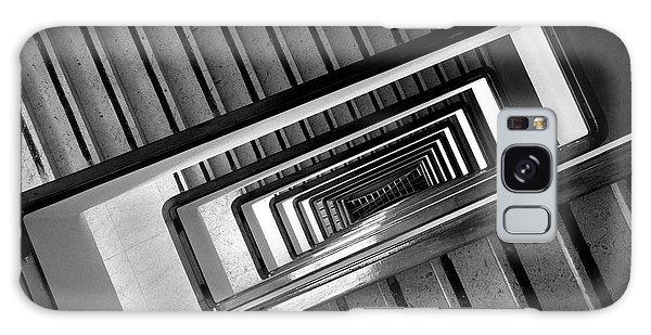 Rectangular Spiral Staircase Galaxy Case