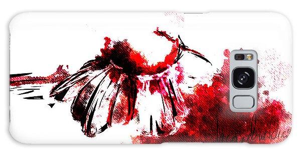Decorative Galaxy Case - Red -1 by Jacqueline Schreiber