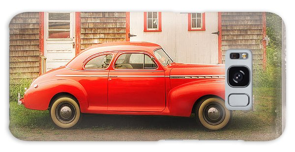 Red 41 Coupe Galaxy Case by Craig J Satterlee