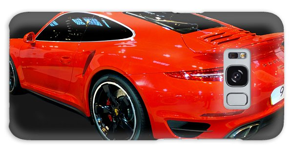 Red 911 Galaxy Case